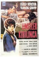 Ümitler Kırılınca (1962) afişi