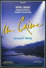 Un Crime (1993) afişi