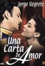 Una Carta De Amor (1943) afişi