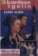 Üç Kardeşe Bir Gelin (1965) afişi