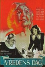 Vredens Dag (1943) afişi