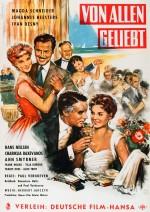 Von allen geliebt (1957) afişi