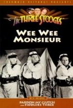 Wee Wee Monsieur (1938) afişi