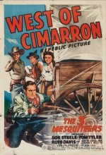 West Of Cimarron (1941) afişi