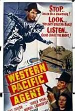Western Pacific Agent (1950) afişi
