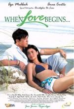 When Love Begins... (2008) afişi