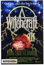 Witchcraft 3: The Kiss of Death (1991) afişi