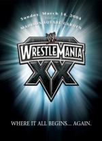 Wrestlemania 20 (2004) afişi