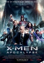 X-Men: Apocalypse Full HD 2016 izle