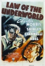 Yeraltı Dünyasının Yasası (1938) afişi
