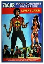 Zagor Kara Korsanın Hazineleri (1971) afişi