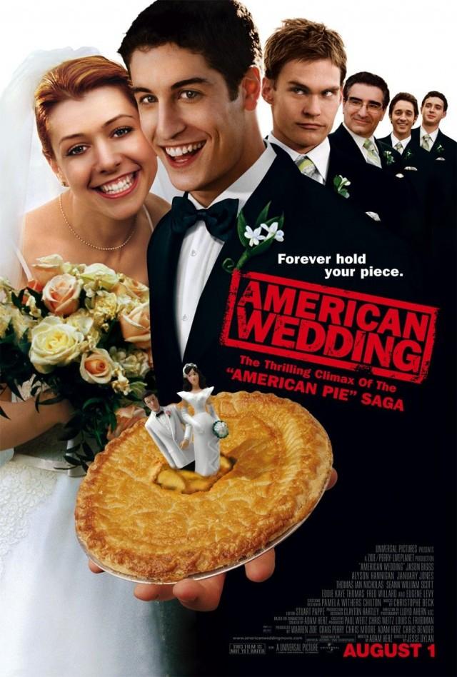 Amerikan Pastası Düğün