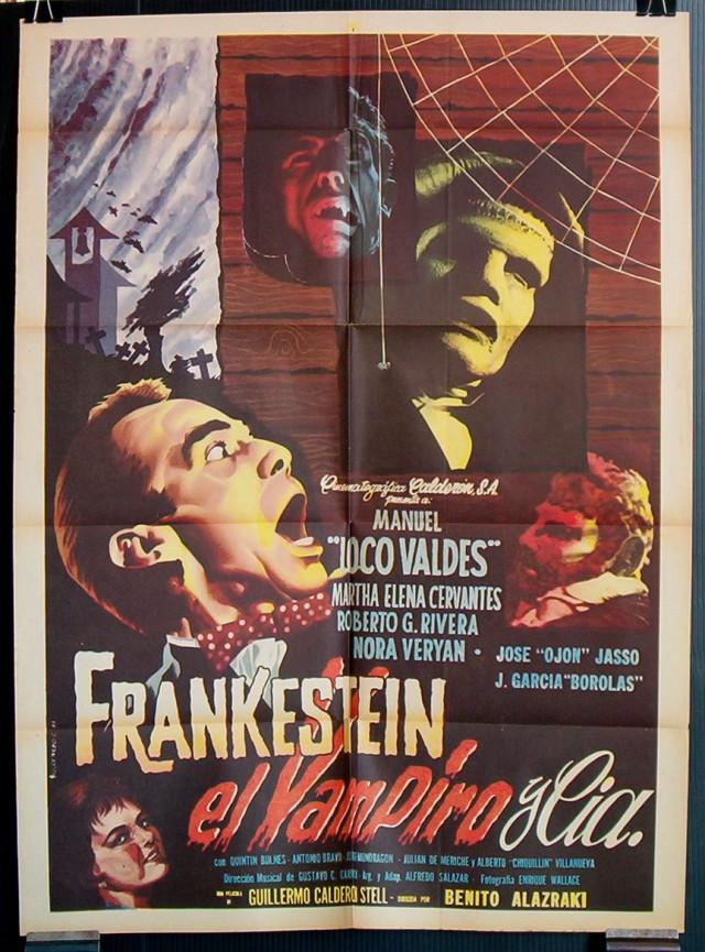Frankestein El Vampiro Y Compañía