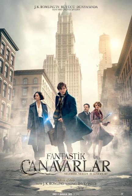 Fantastik Canavarlar Nelerdir, Nerede Bulunurlar – Fantastic Beasts and Where to Find Them (2016) Türkçe Altyazılı Fragman İzle HD Trailer