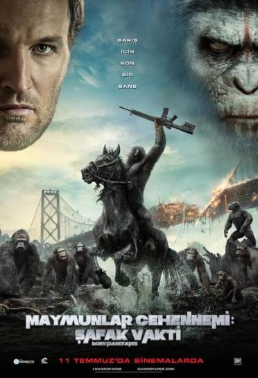 Maymunlar Cehennemi: Şafak Vakti  - Dawn of the Planet of the Apes (2014) 720p R6 Türkçe Altyazılı