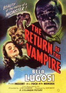 Vampir'in Geri Dönüşü