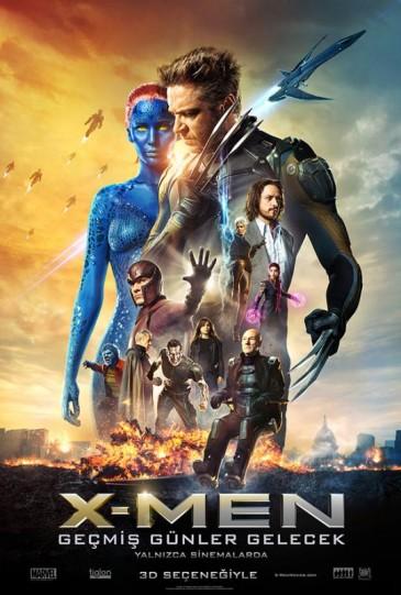 X-Men Geçmiş Günler Gelecek izle