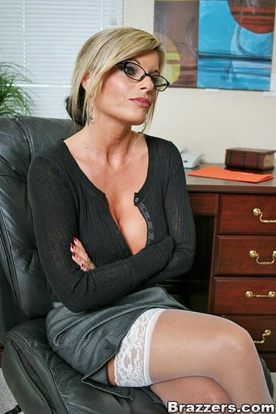 Red Shoes Glasses Anal
