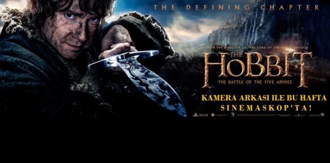 Hobbit: Battle Of The Five Armies Bu Hafta Sinemaskop'ta!