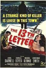 13. Mektup (1951) afişi