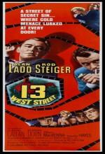13 West Street (1962) afişi