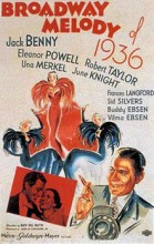 Broadway Melody Of 1936 (1935) afişi