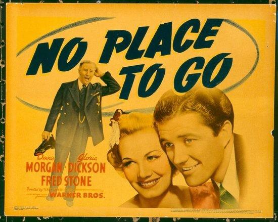 No Place To Go (1939) afişi