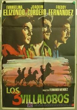 Los Tres Villalobos (1955) afişi