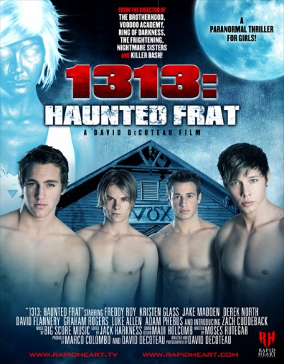 1313: Haunted Frat (2011) afişi