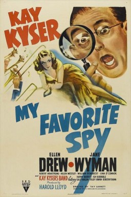 My Favorite Spy (1942) afişi