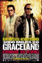 3000 Miles To Graceland (2001) afişi