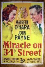 34. Caddedeki Mucize (1947) afişi