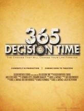 365 Decision Time (2012) afişi