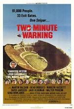 İki Dakika Uyarı (1976) afişi