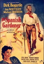 The Spanish Gardener (1956) afişi
