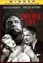 A Double Life (1947) afişi