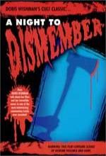 A Night to Dismember (1983) afişi