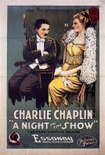 A Night in The Show (1915) afişi