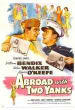 Abroad With Two Yanks (1944) afişi