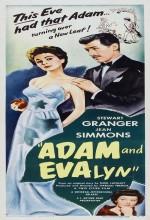 Adam And Evelyne (1949) afişi