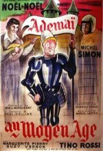 Adémaï Au Moyen âge (1934) afişi