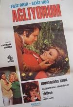 Ağlıyorum (1973) afişi