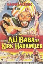 Ali Baba ve Kırk Haramiler (1971) afişi