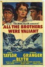 All The Brothers Were Valiant (1953) afişi