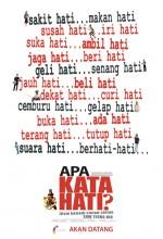 Apa Kata Hati (2008) afişi