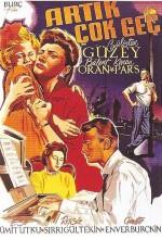 Artık Çok Geç (1955) afişi
