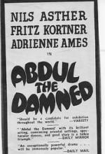 Abdul the Damned (1935) afişi