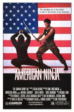 Amerikan Ninja (1985) afişi