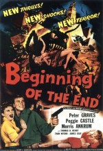 Begining Of The End (1957) afişi