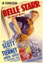 Belle Starr (1941) afişi